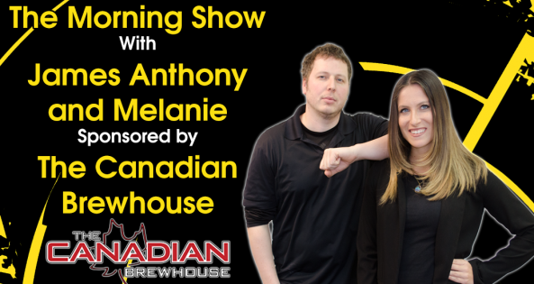 The Morning Show with James Anthony and Melanie